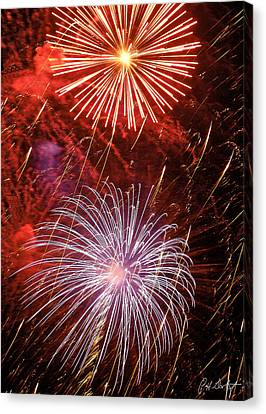 Sky Explosion Canvas Print by Phill Doherty
