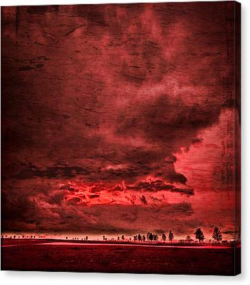 Sky Is Crying Canvas Print by Philippe Sainte-Laudy