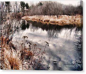 Canvas Print featuring the photograph Sky Low by Betsy Zimmerli