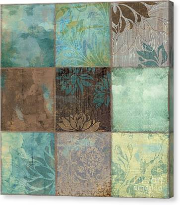 Sky Patches I Canvas Print by Mindy Sommers