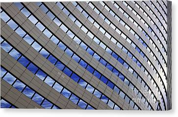 Sky Reflections Canvas Print by Mike Reid