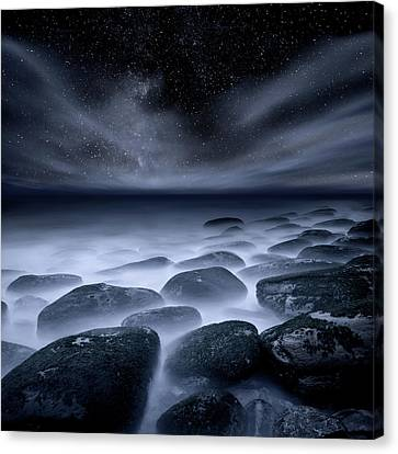 Canvas Print featuring the photograph Sky Spirits by Jorge Maia