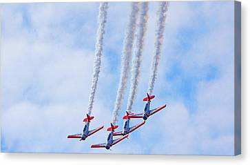 Sky Squadron Canvas Print