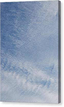 Canvas Print featuring the photograph Sky Tracks Baby by Max Mullins