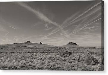 Hopi Canvas Print - Sky Trails by Gordon Beck