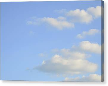 Canvas Print featuring the photograph Sky by Wanda Krack
