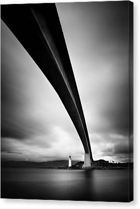Skye Bridge Canvas Print by Nina Papiorek