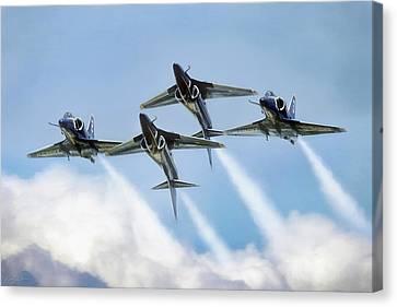 Skyhawk Double Farvel Canvas Print