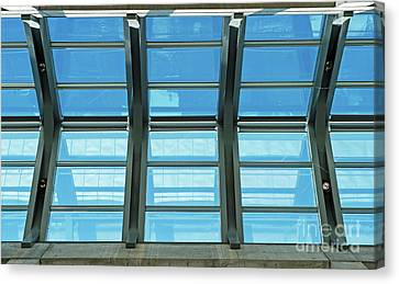 Canvas Print featuring the photograph Skylight.. by Nina Stavlund