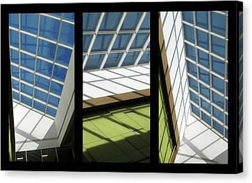 Skylight Canvas Print - Skylight Triptych II by Jessica Jenney