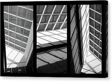 Skylight Canvas Print - Skylight Triptych  by Jessica Jenney