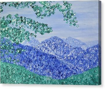 Skyline Drive Canvas Print by Jodi DiLiberto