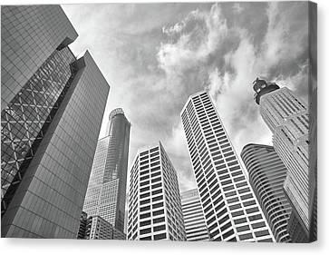 Skyline In Minneapolis, Minnesota Canvas Print