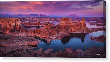 Canvas Print - Skyline by Peter Coskun