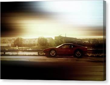 Skyline Speed Canvas Print