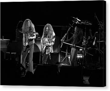 Skynyrd In Spokane Canvas Print by Ben Upham