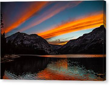Skys Of Color Canvas Print by Brian Williamson