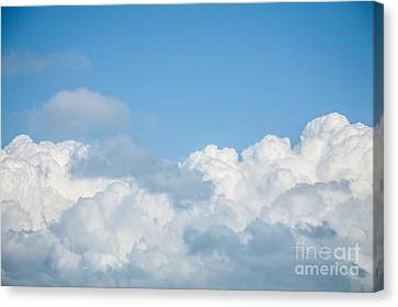 Canvas Print featuring the photograph Skyscape by Jan Bickerton