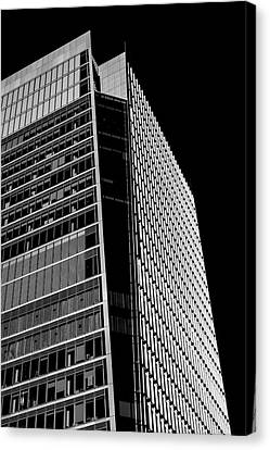 Skyscaper Canvas Print by Martin Newman
