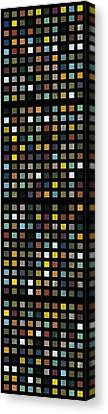 Skyscraper Abstract L Canvas Print by Michelle Calkins