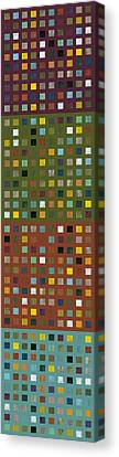 Skyscraper Abstract Ll Canvas Print by Michelle Calkins