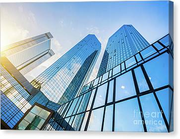 Skyscrapers Canvas Print by JR Photography