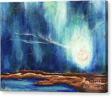 Sky_study Canvas Print by Amy Williams