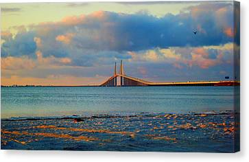 Skyway Bridge Canvas Print