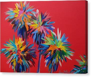 Sl Palms Canvas Print