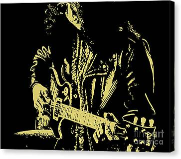 Slash N.02 Canvas Print by Caio Caldas
