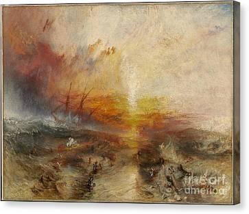 Slave Ship Canvas Print by MotionAge Designs