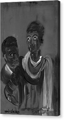 Slave Trade - Dont Sin Me Canvas Print by Robert Lee Hicks