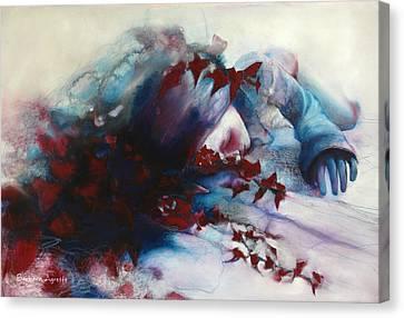 Sleep Canvas Print by Barbara Agreste