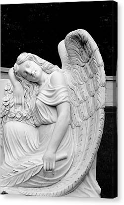 Sleeping Angel Canvas Print