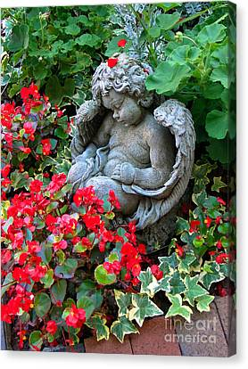 Sleeping Angel Canvas Print by Sue Melvin