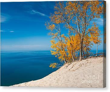 Sleeping Bear Dunes Vista 002 Canvas Print