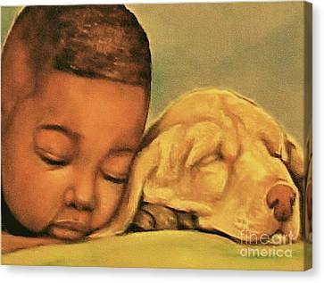 Sleeping Beauties Canvas Print