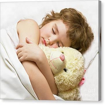 Sleeping Boy Canvas Print