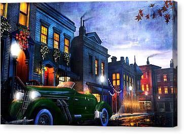 Sleeping City Canvas Print