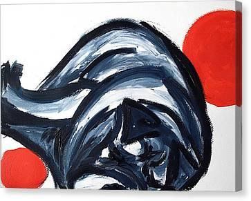 Sleeping Dog Canvas Print by Lidija Ivanek - SiLa