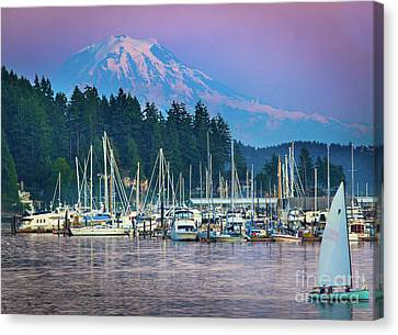 Sleeping Giant Canvas Print by Inge Johnsson