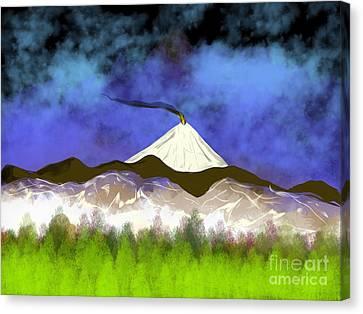 Sleeping Giant Canvas Print by Jonathan Plotkin
