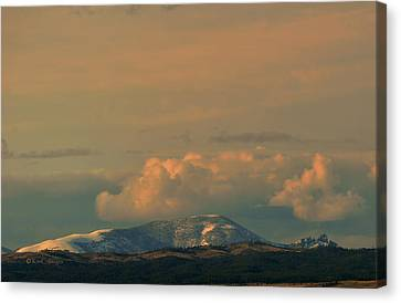 Canvas Print featuring the photograph Sleeping Giant Near Helena Montana by Kae Cheatham