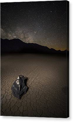 Sleeping Under The Stars Canvas Print by Bill Cantey