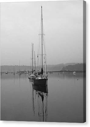 Sleeping Yacht Canvas Print by Arthur Sa