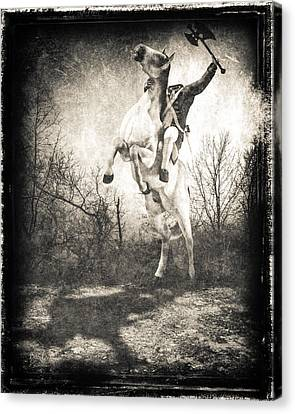 Sleepy Hollow Headless Horseman Canvas Print by Bob Orsillo