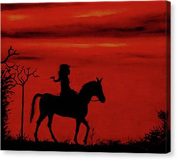 Sleepy Hollow Canvas Print by Robert Marquiss