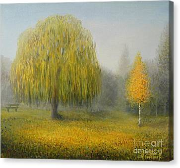 Sleepy Morning Canvas Print by Kiril Stanchev