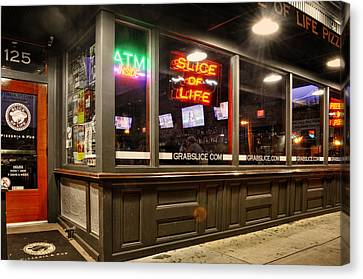Slice Of Life In Wilmington North Carolina Canvas Print by Greg Mimbs