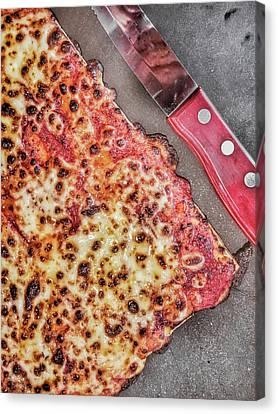 Slice Of Pizza Canvas Print